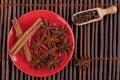 Cinnamon on Red Plate - PhotoDune Item for Sale