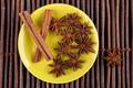 Cinnamon on Green Plate - PhotoDune Item for Sale
