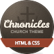 Chronicles - Church & Donation HTML Template - Churches Nonprofit