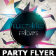 Minimalism Colourful Party Flyer Template - GraphicRiver Item for Sale