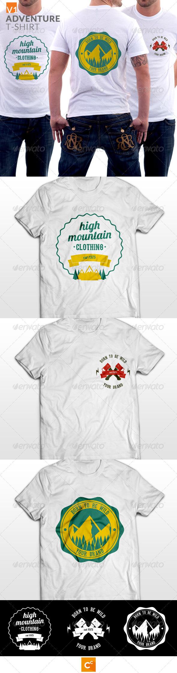 Badge Adventure T-shirt