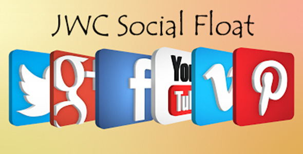 CodeCanyon JWC Social Floating 8062554