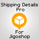 Shipping Details Pro Plugin for Jigoshop