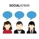 Social Network Speech Bubbles - GraphicRiver Item for Sale