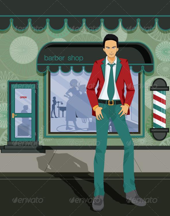 GraphicRiver Barber Shop 8129300