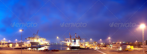 Rotterdam Harbor - Stock Photo - Images