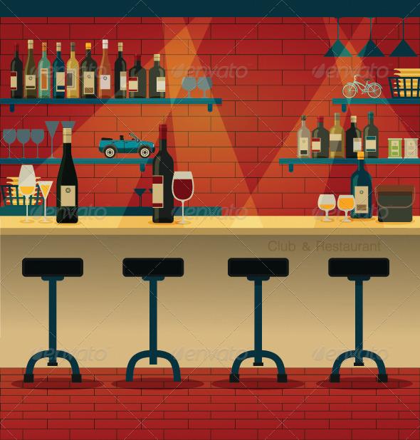 GraphicRiver Club & Restaurant 8129428