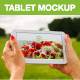 14 Realistic Country Tablet Mockup White Galaxy - GraphicRiver Item for Sale