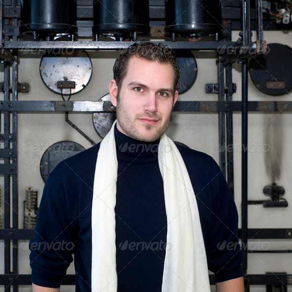 Designer portrait - Stock Photo - Images