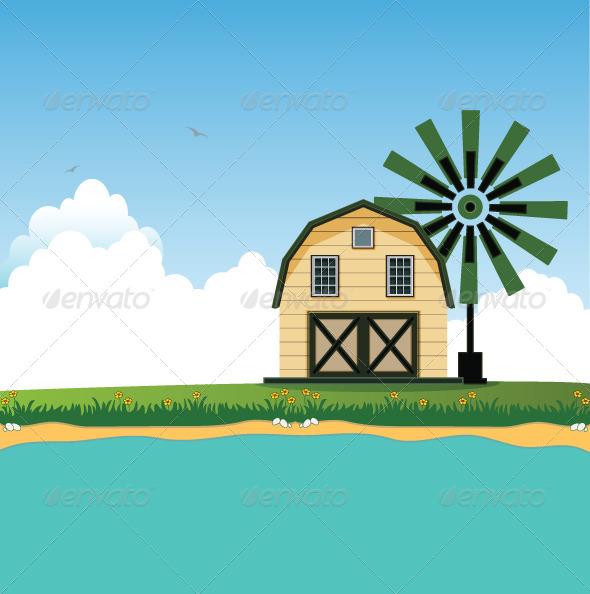 GraphicRiver Barn 8129728