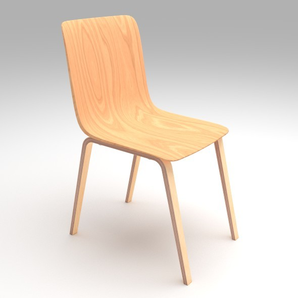 3DOcean Plywood Chair 8130753