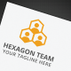 Hexagon Team Logo - GraphicRiver Item for Sale