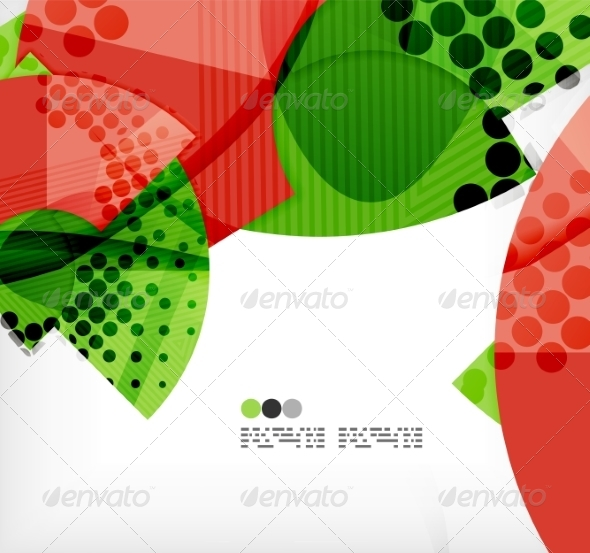 GraphicRiver Semicircle Geometric Vector Abstract Background 8131334