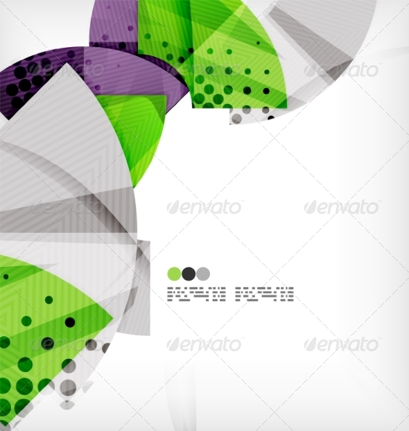 GraphicRiver Semicircle Geometric Vector Abstract Background 8131407