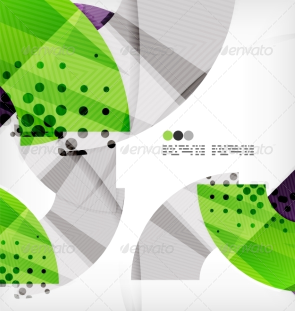 GraphicRiver Semicircle Geometric Vector Abstract Background 8131418