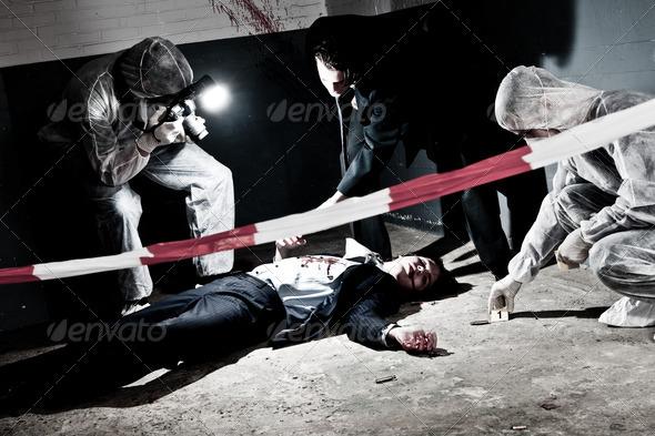 PhotoDune Murder scene 833671