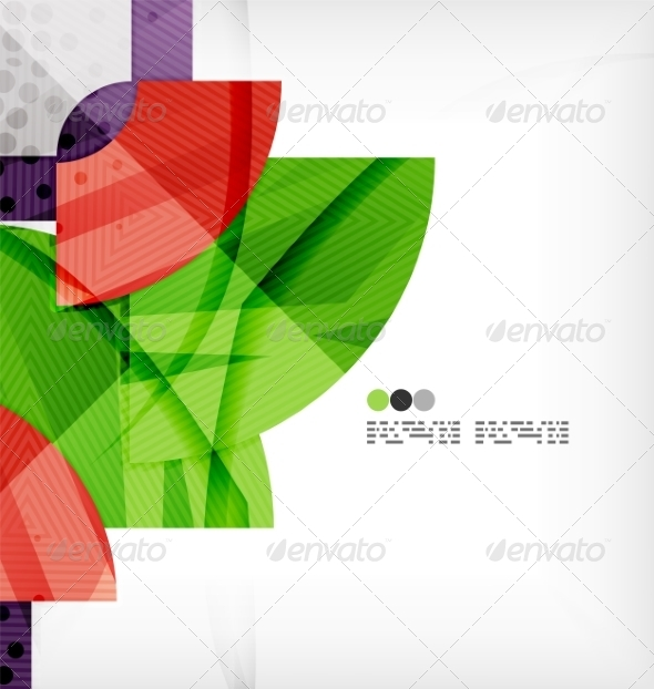 GraphicRiver Semicircle Geometric Vector Abstract Background 8131434