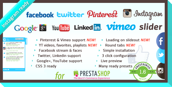 CodeCanyon Facebook Likebox Slider For Prestashop 8131445