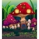 Mushroom House Background - GraphicRiver Item for Sale