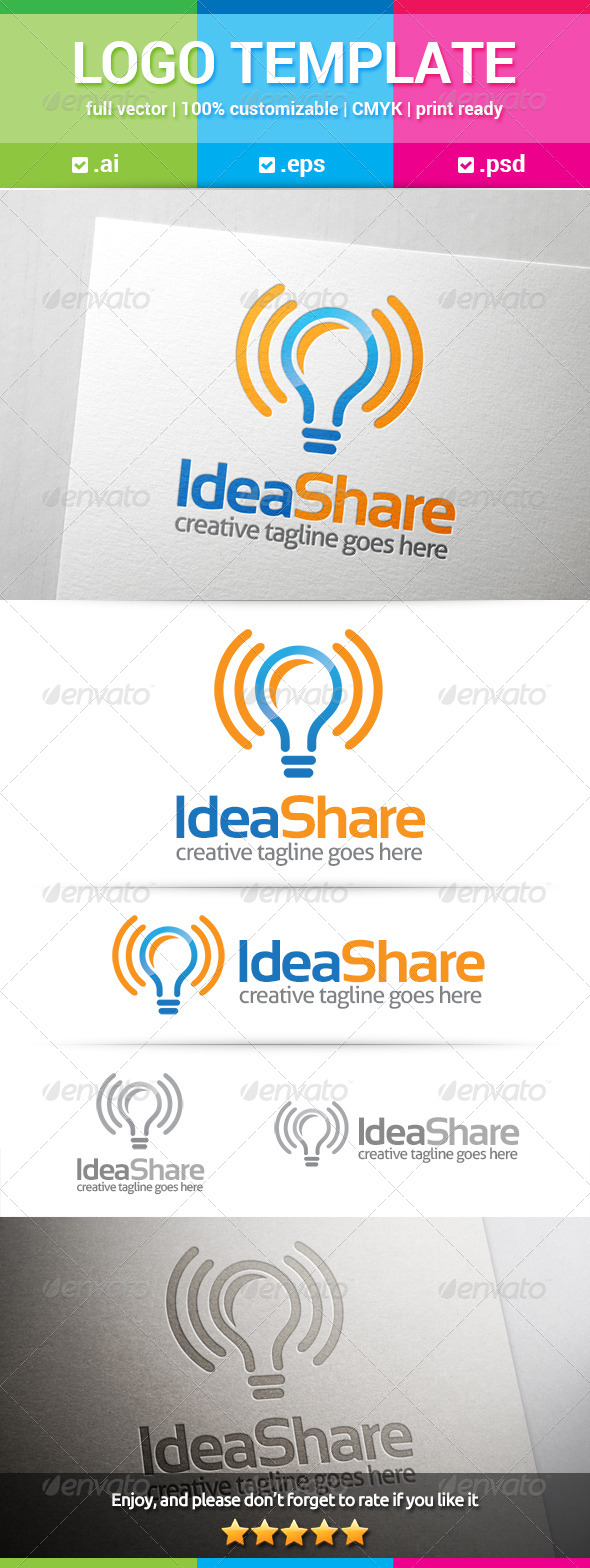 GraphicRiver Idea Share Logo 8131687