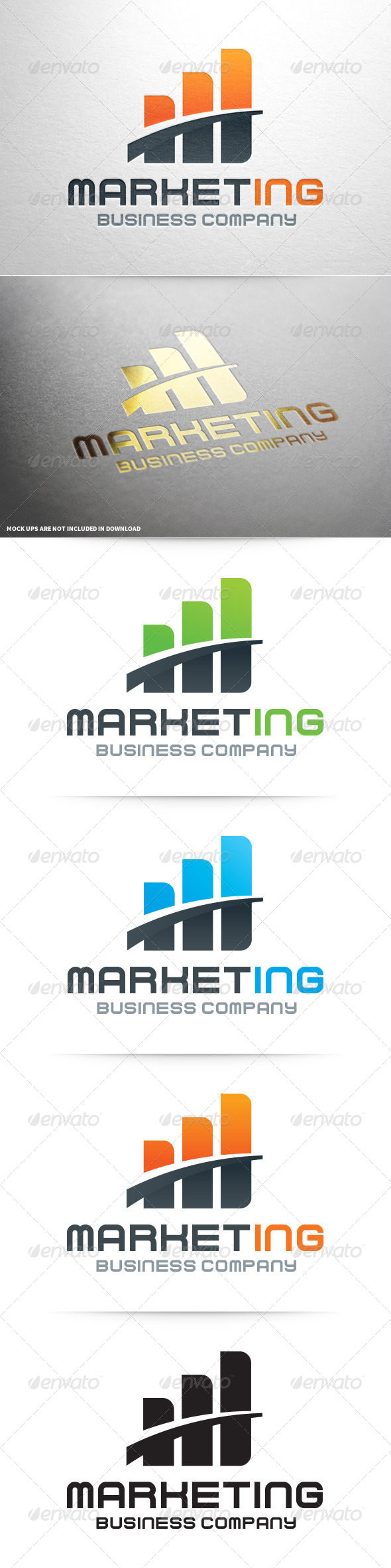 GraphicRiver Marketing Logo Template 8131834