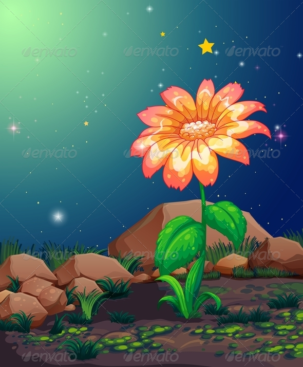 GraphicRiver Blooming Flower 8132022