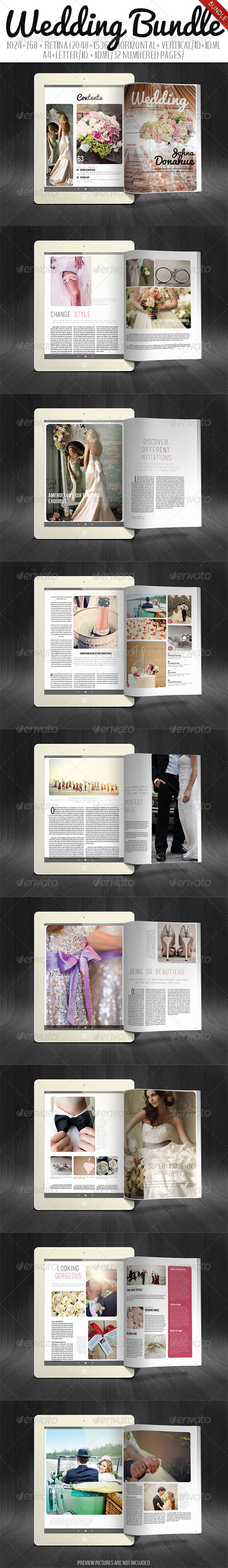 GraphicRiver Wedding Bundle 8132153