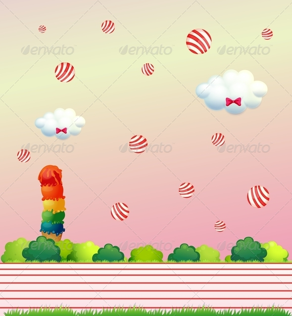 GraphicRiver Floating Candies 8132199