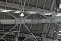 Ventilation system with lights of Ceiling in a warehouse - PhotoDune Item for Sale