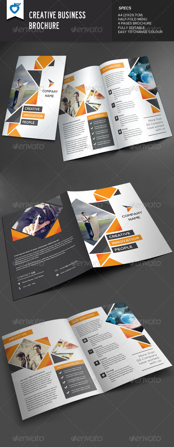 GraphicRiver Creative Business Brochure 8132308
