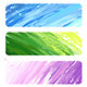 Three Painted Banners - GraphicRiver Item for Sale