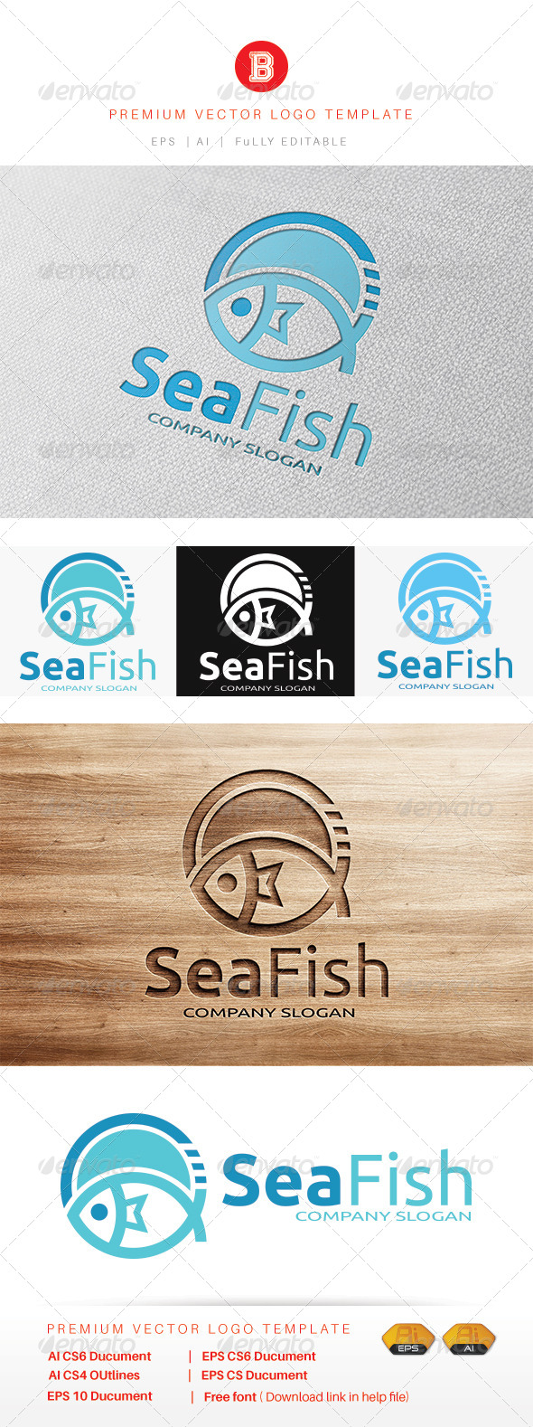 GraphicRiver Sea Fish 8132322
