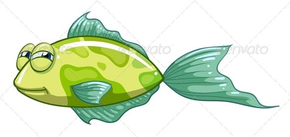 GraphicRiver A Green Fish 8132331