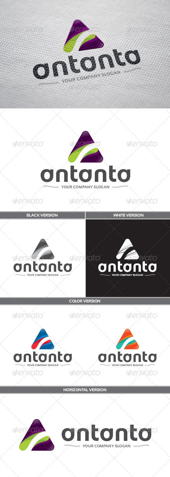 GraphicRiver Antanta Logo 8132341