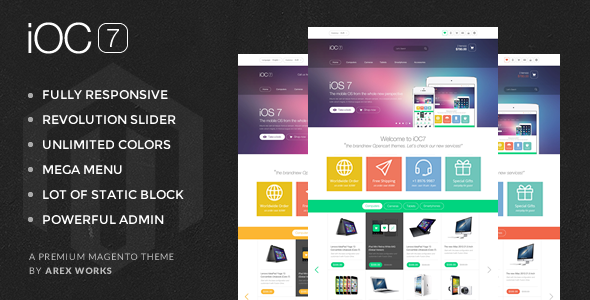 ThemeForest AM iOC7 Responsive Magento Theme 8132349