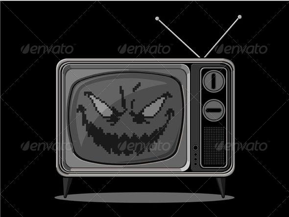 GraphicRiver Evil Television 8071122