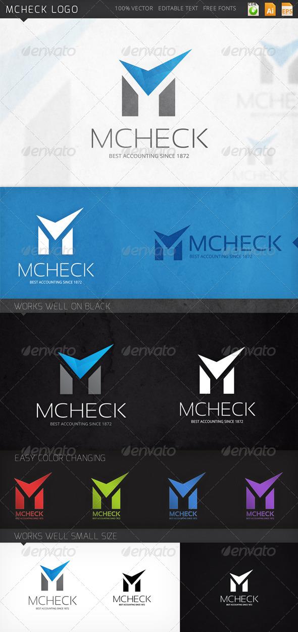 GraphicRiver Mcheck Logo 8132470