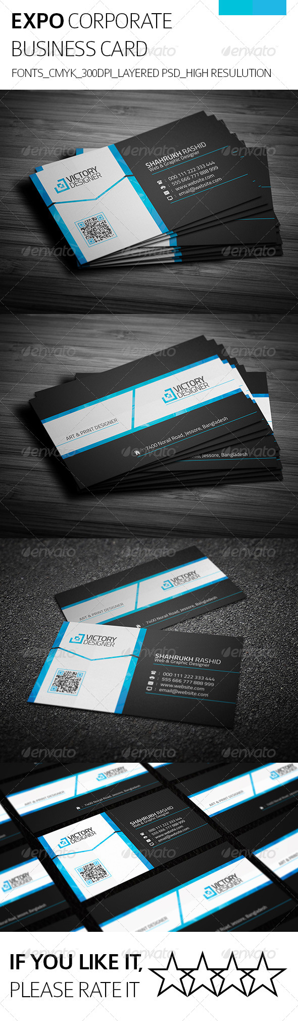 GraphicRiver Expo & Corporate Business Card 8132478