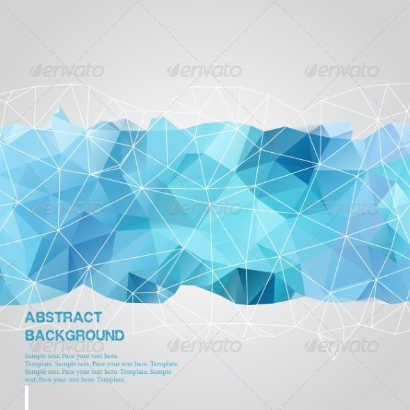 GraphicRiver Abstract Blue Background 8132541