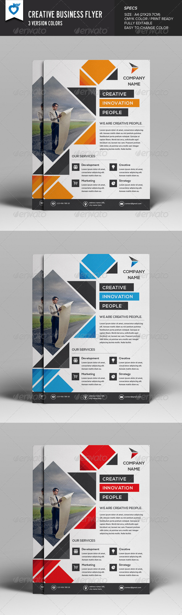 GraphicRiver Creative Business Flyer 8132559
