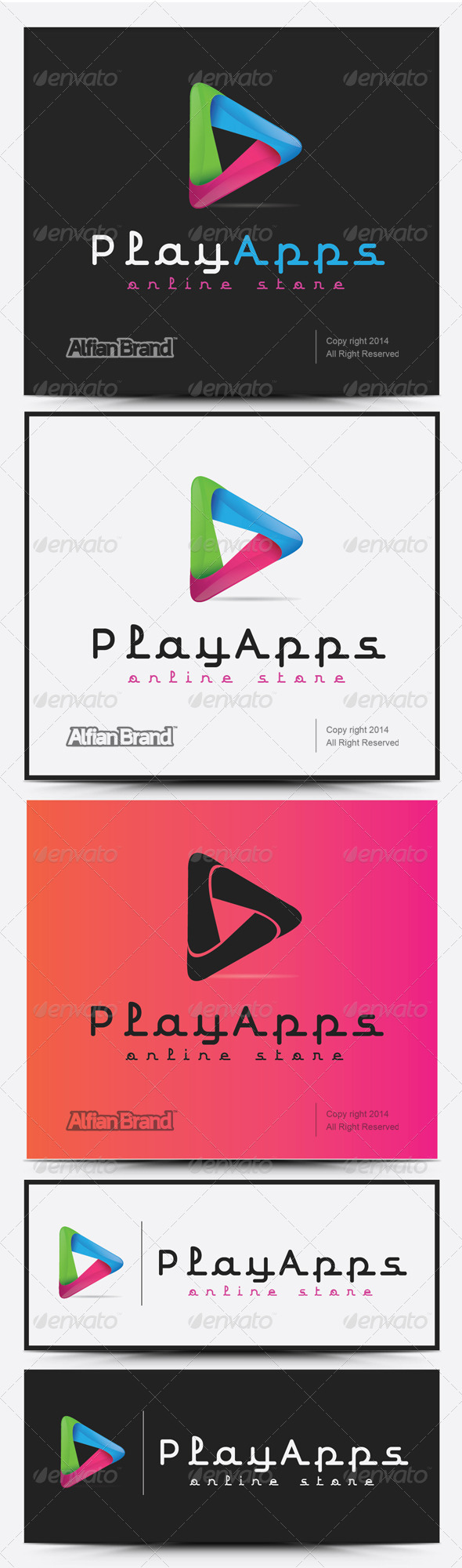 GraphicRiver Play Apps Logo 8132570