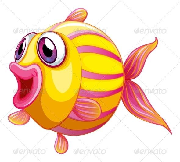 GraphicRiver A Colorful Pouty Fish 8132572