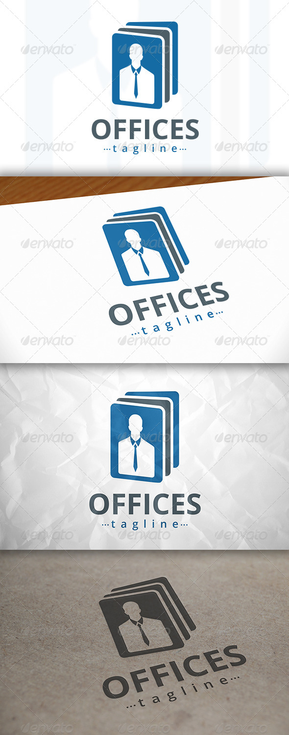 GraphicRiver Office Notes Logo 8132598