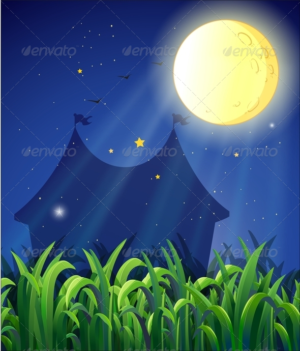 GraphicRiver The Carnival at Night 8132639