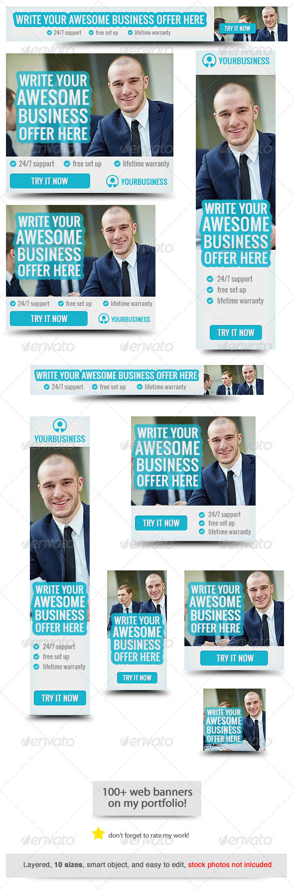 GraphicRiver Corporate Web Banner Design Template 42 8132743
