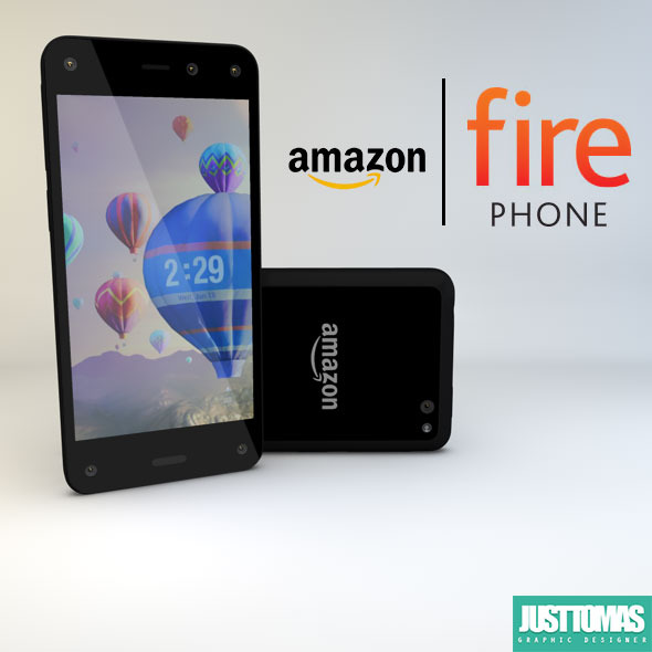 Amazon Fire Phone - 3DOcean Item for Sale