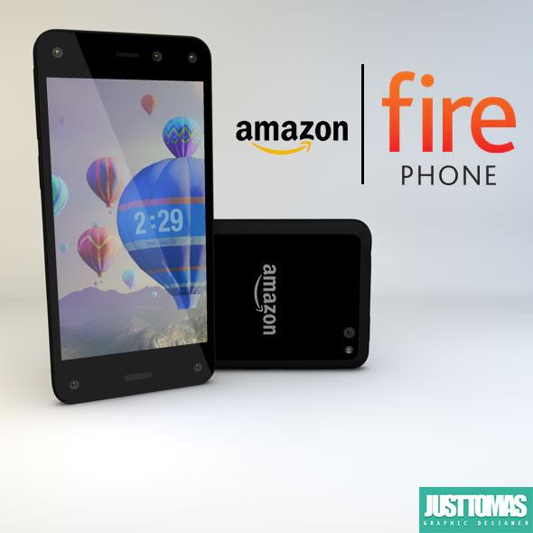 3DOcean Amazon Fire Phone 8132945