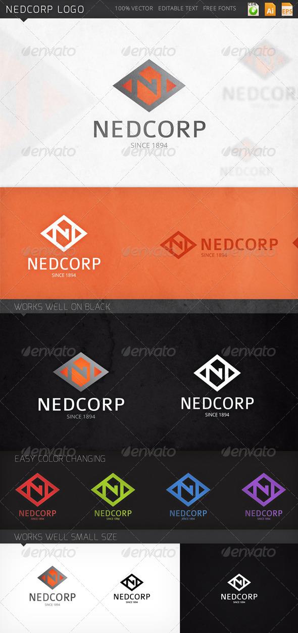 GraphicRiver Nedcorp Logo 8132959