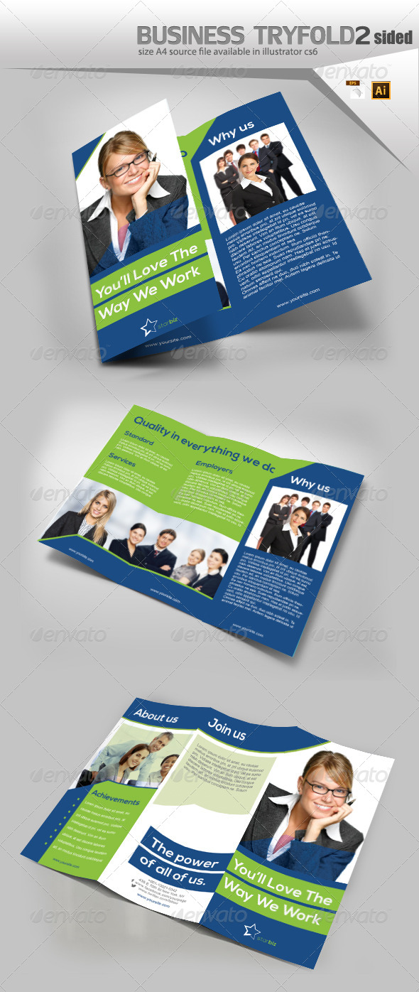 GraphicRiver Business TriFold Brochure 8133000