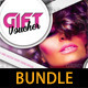 Gift Voucher Templates Bundle 01 - GraphicRiver Item for Sale